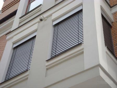 внешние жалюзи на окна