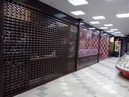 защитные роллеты в магазин трц