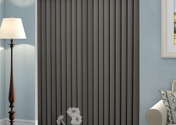 вертикальные жалюзи серебрянные