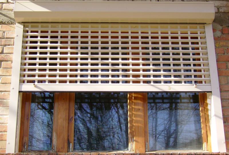 решетчаты ролеты на окно