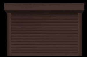 Новый оттенок защитных роллет – шоколадно-коричневый (RAL 8017)