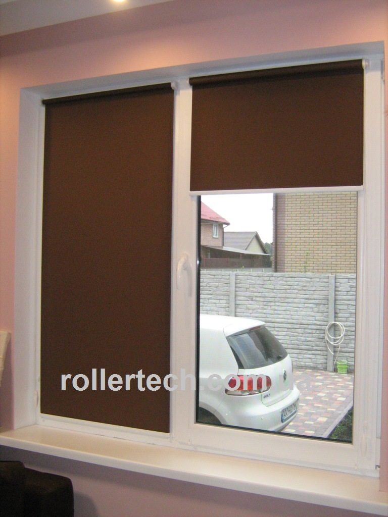 рулонные шторы на створку окна
