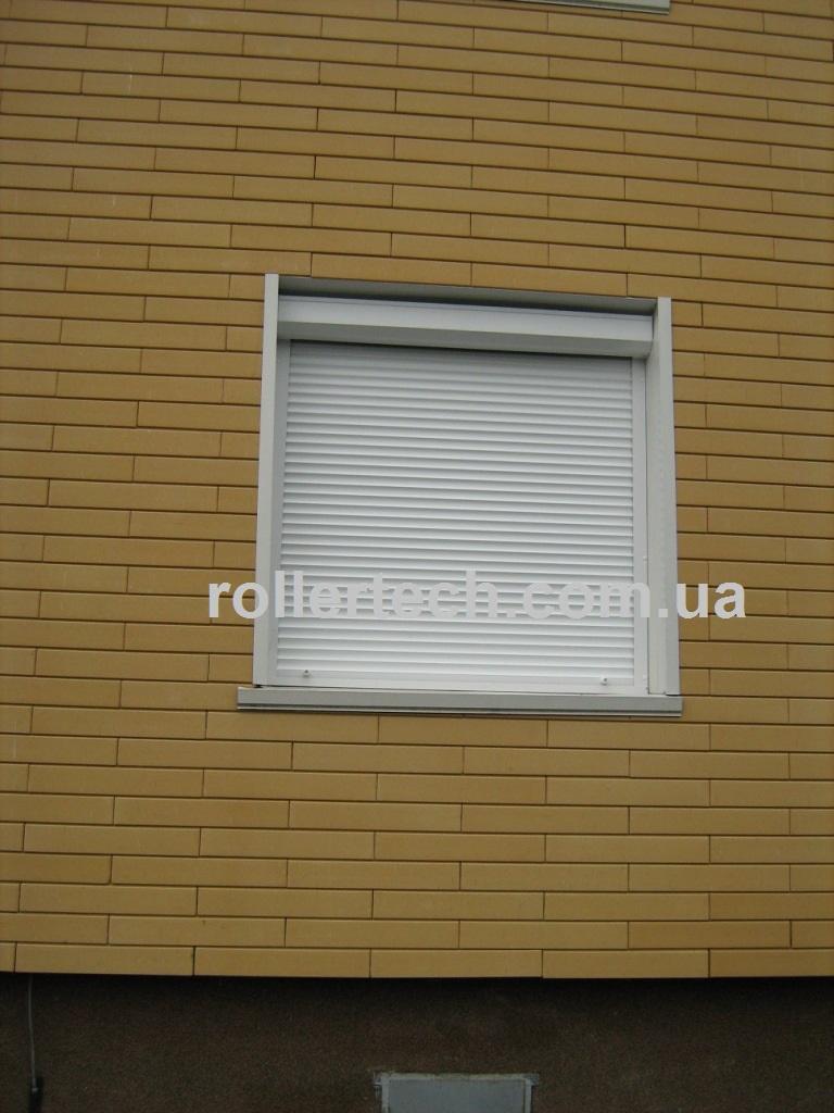 Защитные ролеты Алютех на окно