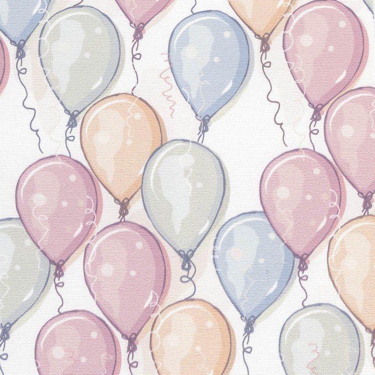 ткань с шариками в детскую фото