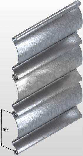 профиль стальных роллет