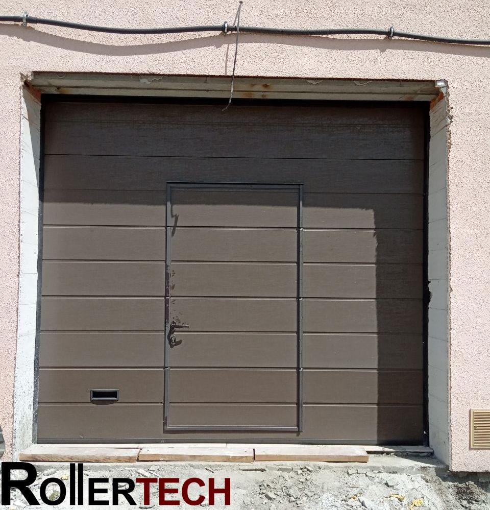 гаражные ворота алютех