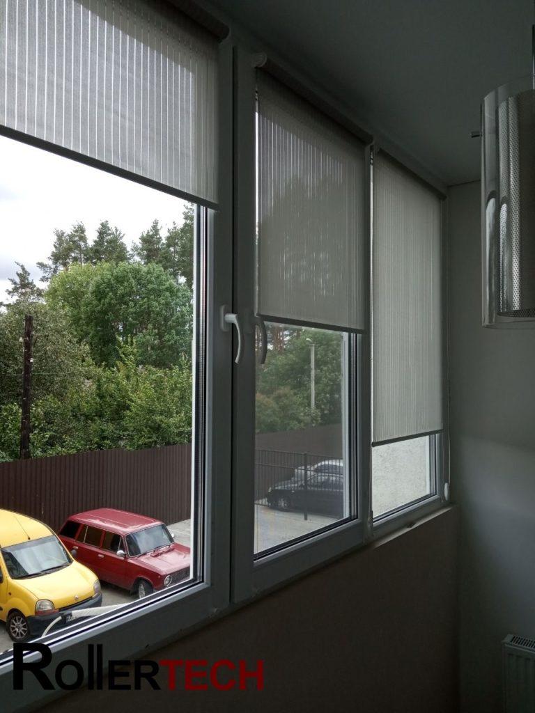 балконные рулонные шторы фото